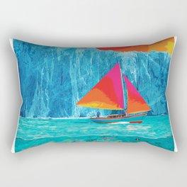 Sunrise Sails in the Arctic Ocean Rectangular Pillow