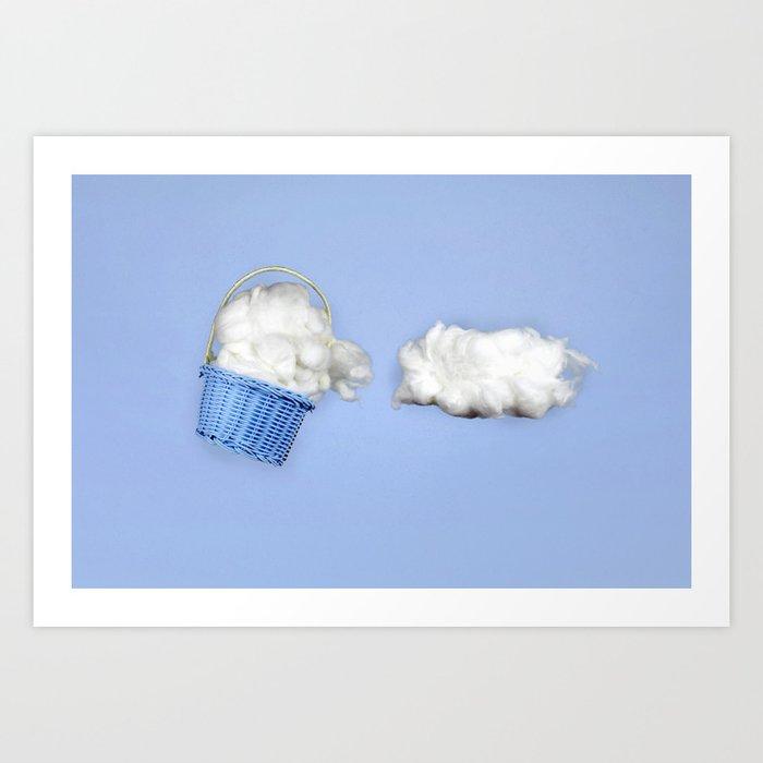 The cloud harvester Art Print