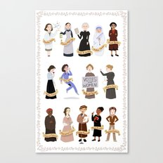 Women in History Canvas Print