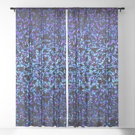 Glitter Graphic G99 Sheer Curtain
