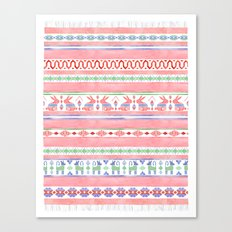 Mexican Blanket Canvas Print