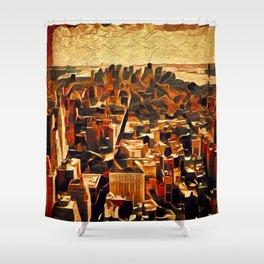 City Shower Curtain