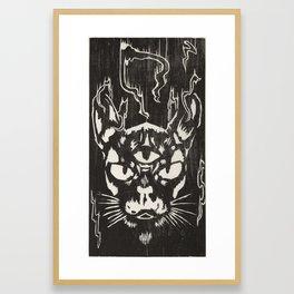 Jezebel Framed Art Print