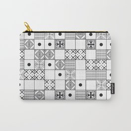 Pattern Tiles Carry-All Pouch