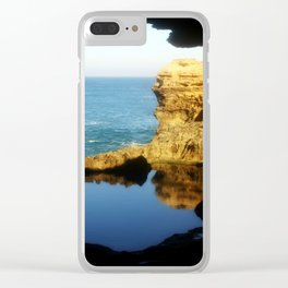 """Inside """"The Grotto"""" Looking Out! Clear iPhone Case"""