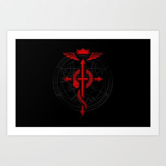 Full of Alchemy - Fullmetal alchemist Art Print