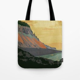 Five Islands Provincial Park Poster Tote Bag