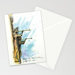 The Angels at Bass Hall Stationery Cards