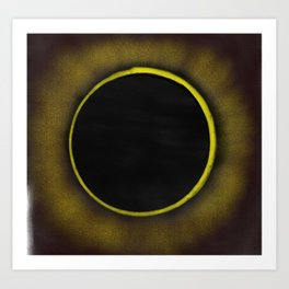 Eclipse 2017 Art Print