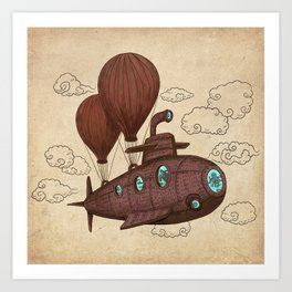 The Fantastic Voyage Art Print