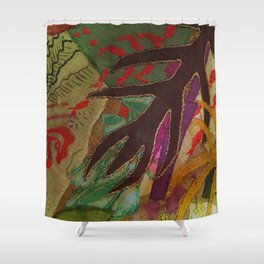 Vintage sewing Shower Curtain
