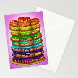 Donuts I 'Sweet Rainbow' Stationery Cards