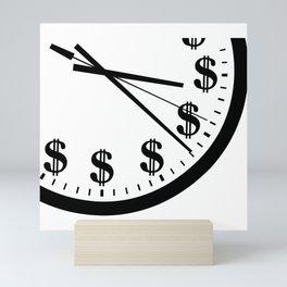 When Time Is Money Mini Art Print
