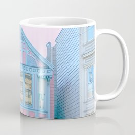 San Francisco Painted Lady Victorian House Coffee Mug