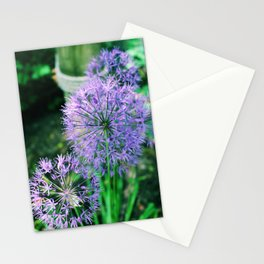 Purple Thin Stationery Cards