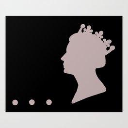 Queenie 31 Art Print