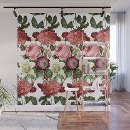 Fun with Florals Wall Mural
