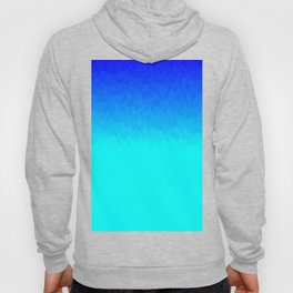 Electric Blue Ombre flames / Light Blue to Dark Blue Hoody
