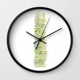 Initial I Wall Clock