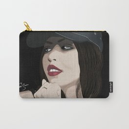 Beautiful in Black Carry-All Pouch