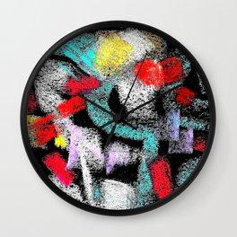 osile multicolor multicolor Wall Clock