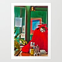 lobster Art Prints featuring Lobster by Suzi Corker