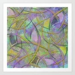 Filament Fever Art Print