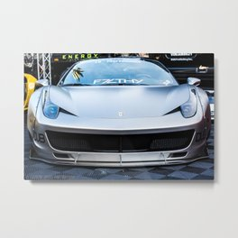 Liberty Works Ferrari 458 Italia Metal Print