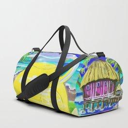 Lemon Paradise Duffle Bag