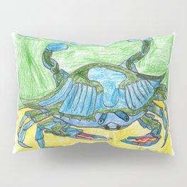 Blue Crusher Pillow Sham
