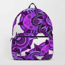 Crown Chakra Mandala Backpack