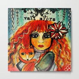Vali Myers Metal Print