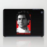 senna iPad Cases featuring Formula One - Ayrton Senna by Vehicle