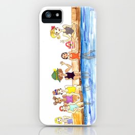 Girl Gang iPhone Case