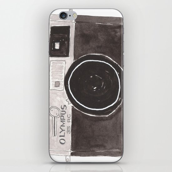 My Camera, Your Camera iPhone & iPod Skin