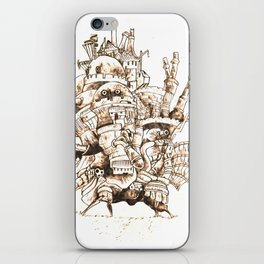 Howl's Moving Castle - Pyrography iPhone Skin