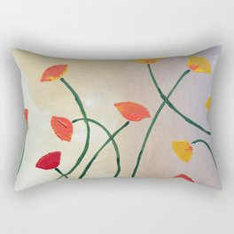 Tall Poppy Rectangular Pillow