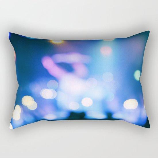 It's Party Time #2 #Blue Rectangular Pillow