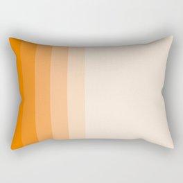 orange gradient Rectangular Pillow