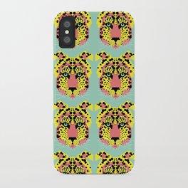 Modular Cheetah iPhone Case