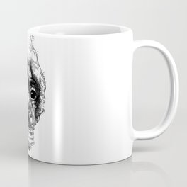 Graphic face Coffee Mug
