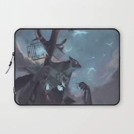 The Dreamteller of the Departed Laptop Sleeve