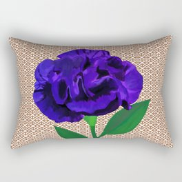 Bloomin' Violet Rectangular Pillow
