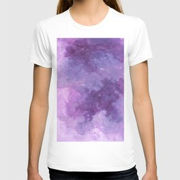 Violet Abstract T-shirt