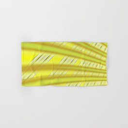 Fractal Play in Citruslicious Hand & Bath Towel