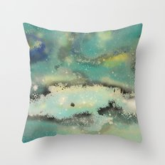 Postcards From Pluto 2 Throw Pillow