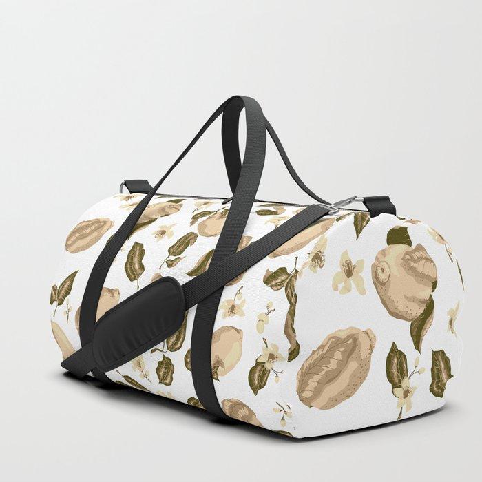 Lemon Slices Graphic Design Duffle Bag