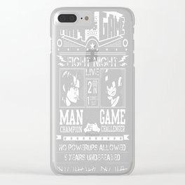 Fight-Night Clear iPhone Case