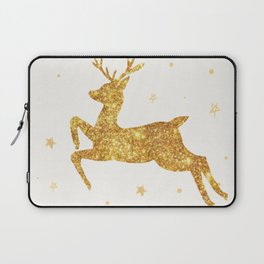 Golden Deer Laptop Sleeve