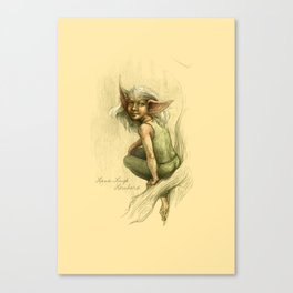 Geckofoot the Tree Elf Canvas Print